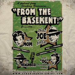The Basement tee - The Flying Pork Apparel Co.