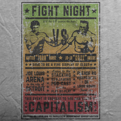 Fight Night tee - The Flying Pork Apparel Co.