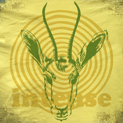Intense Gazelle tee. - The Flying Pork Apparel Co.