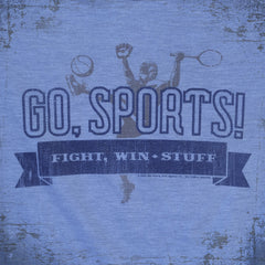 Go Sports tee - The Flying Pork Apparel Co.