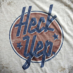 Heck Yep tee - The Flying Pork Apparel Co.