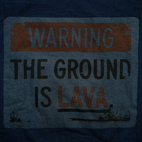 Ground is Lava tee