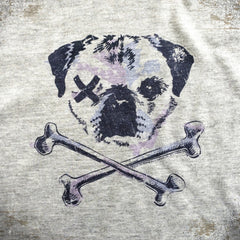 One-Eyed Pug tee - The Flying Pork Apparel Co.