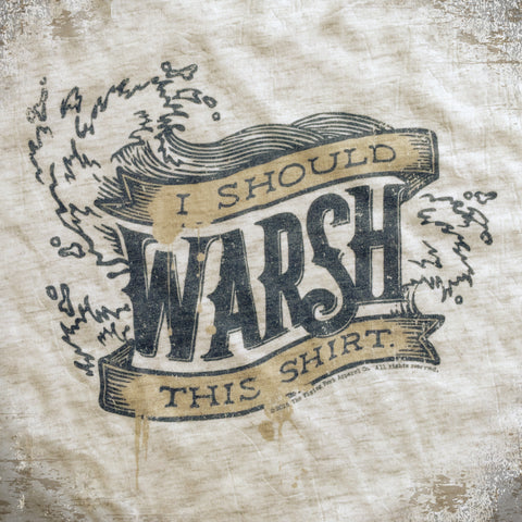 Warsh This tee