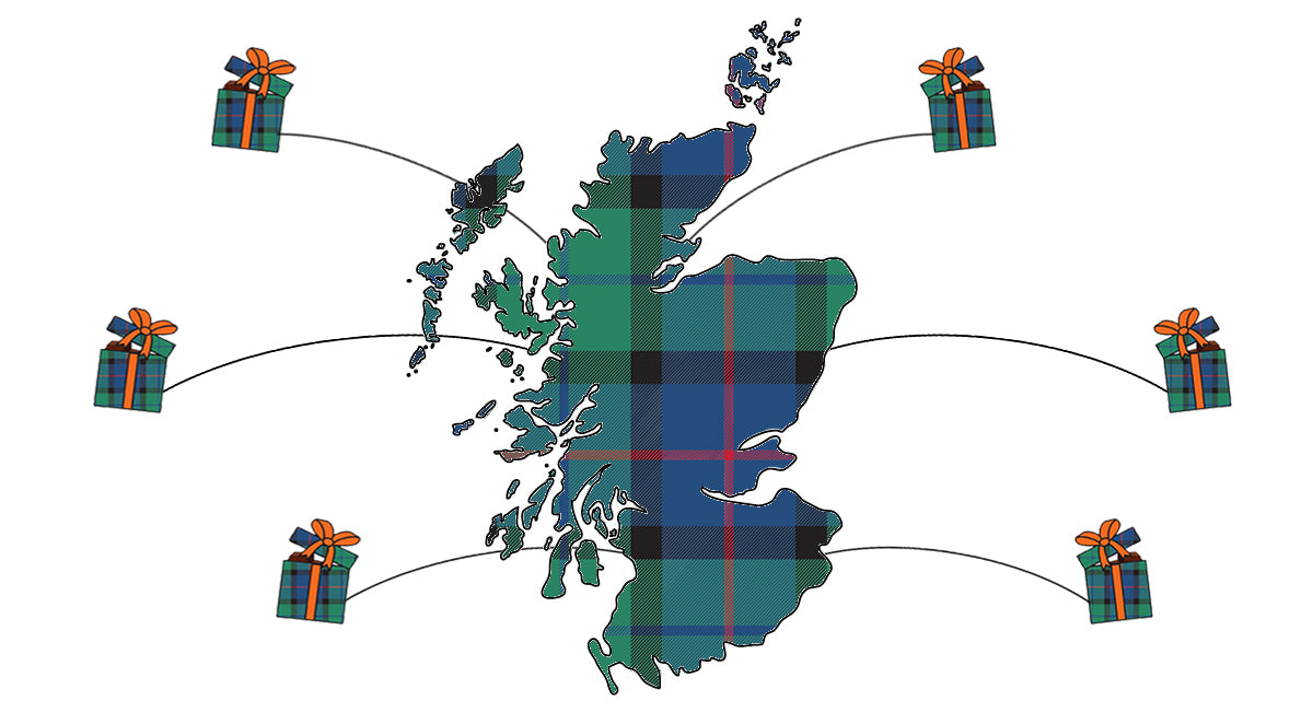 The Scot Box, Send Scottish Treats abroad.