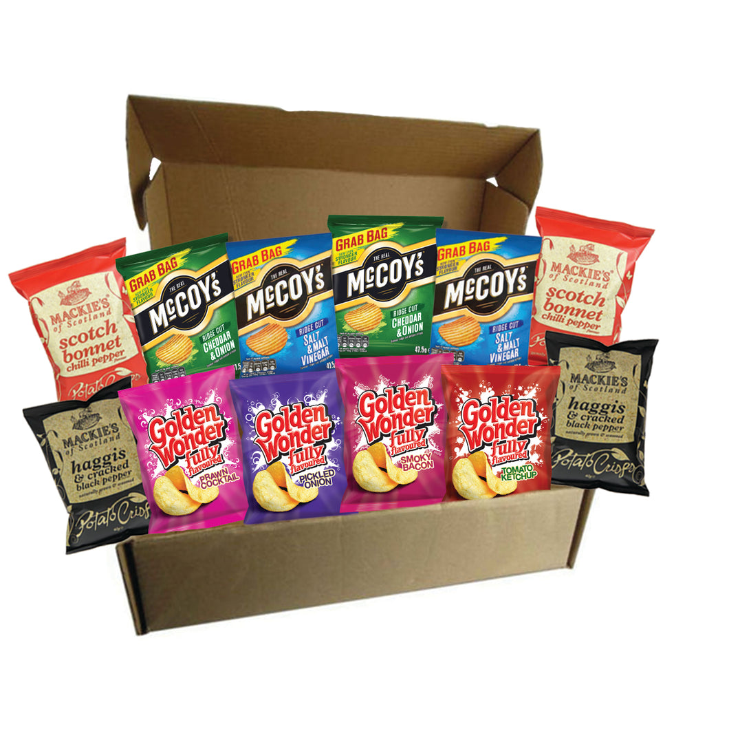 The Crisp Selection Box - The Scot Box