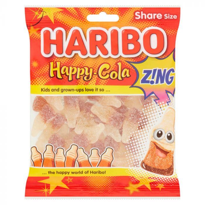 Haribo Happy Cola ZING Big Bag 160g
