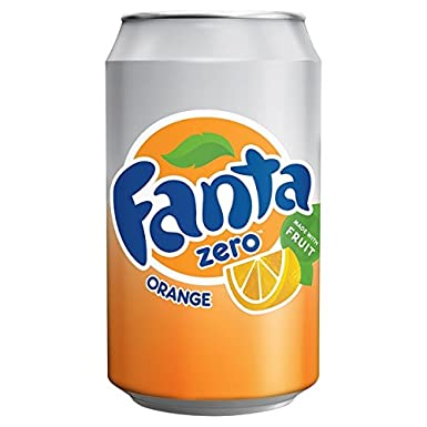 Fanta Zero Orange 330ml