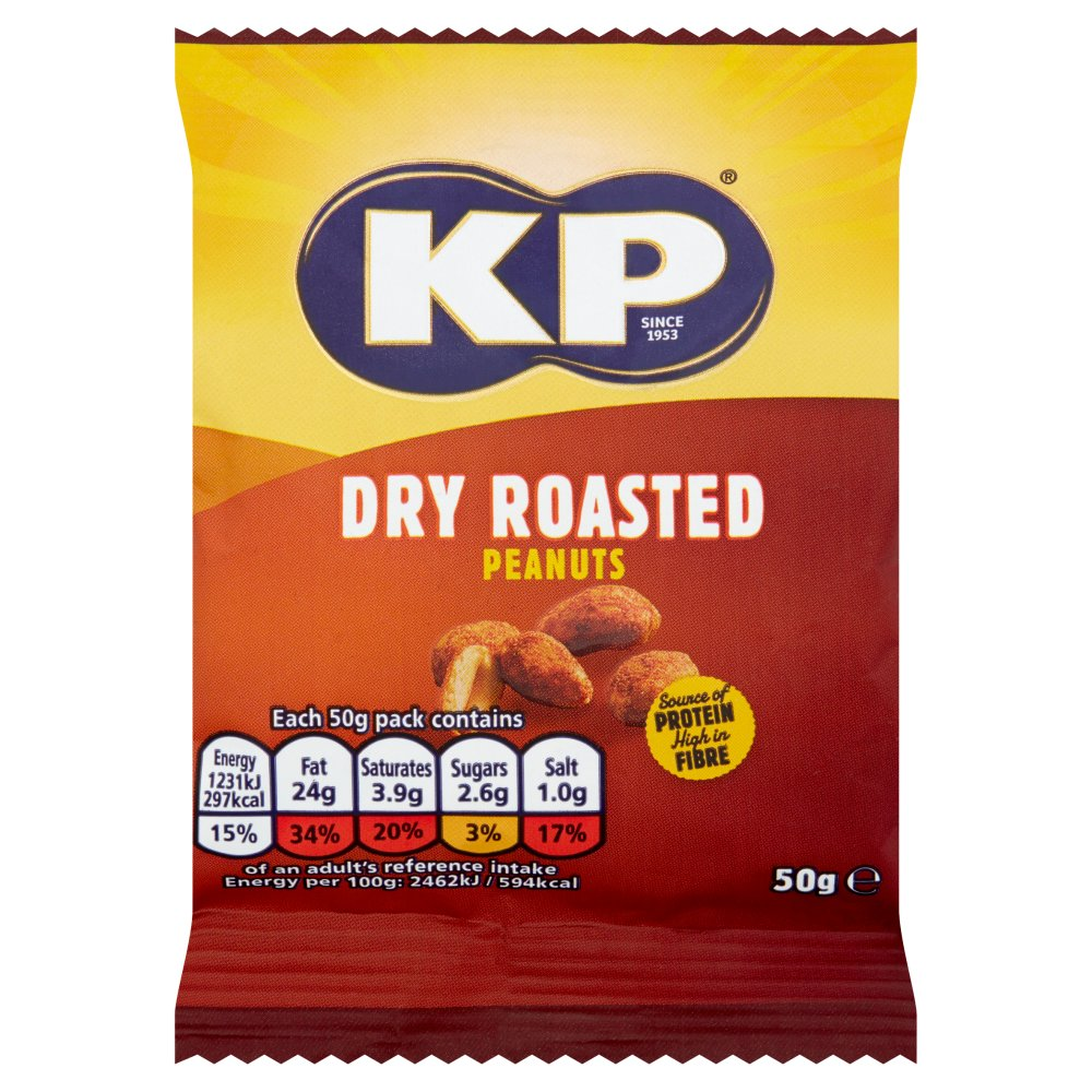 KP Peanuts Dry Roasted