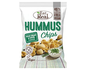 Eat Real Hummus Chips Sour Cream 25g