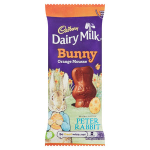 Cadbury Dairy Milk Bunny Orange - Easter Peter Rabbit Edition 30g