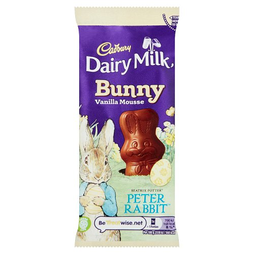 Cadbury Dairy Milk Mousse Bunny - Easter Peter Rabbit Edition 30g