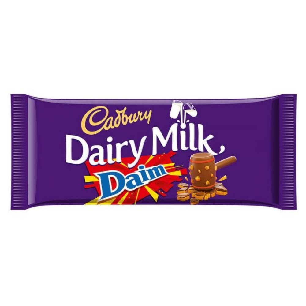 Cadbury Dairy Milk Daim Big Bar 120g
