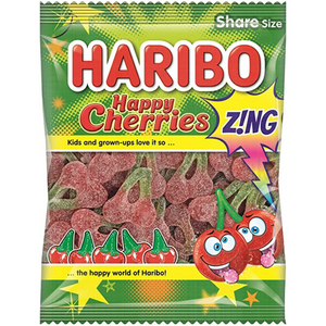 Haribo Cherries Zing 160g