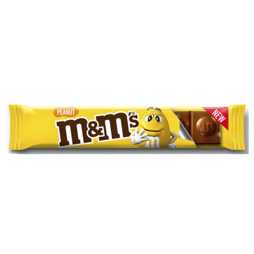 M&M's Peanut Chocolate Bar 34g