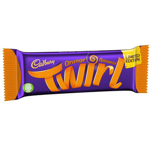 Cadbury Orange Twirl Limited Edition 43g