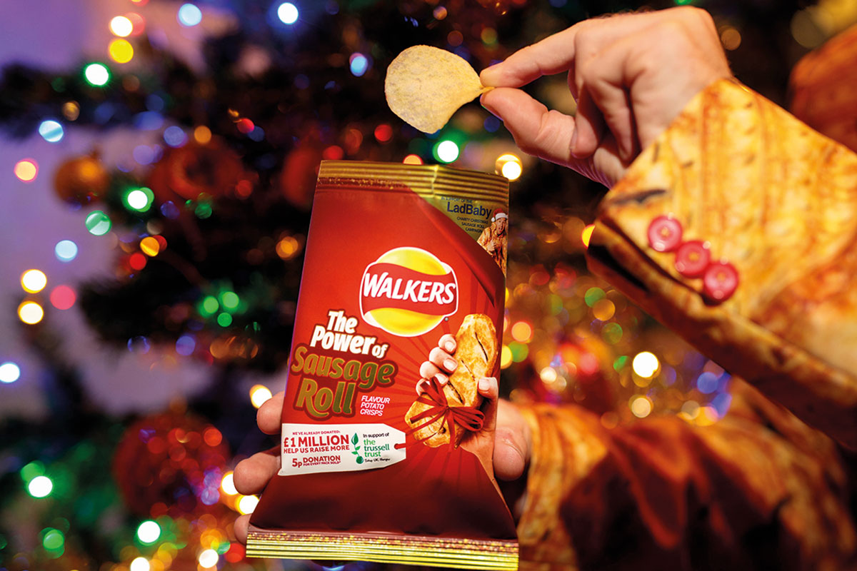 Walkers 'The Power of Sausage Roll' Crisps 32.5g