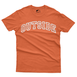 OUTSIDE TEE - ORANGE