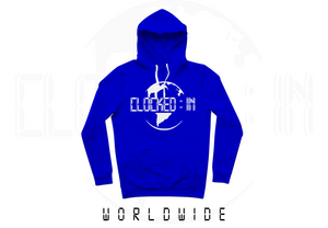 ROYAL BLUE CLOCKED IN PULLOVER