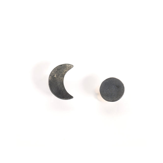 Crescent Moon Phase Earrings