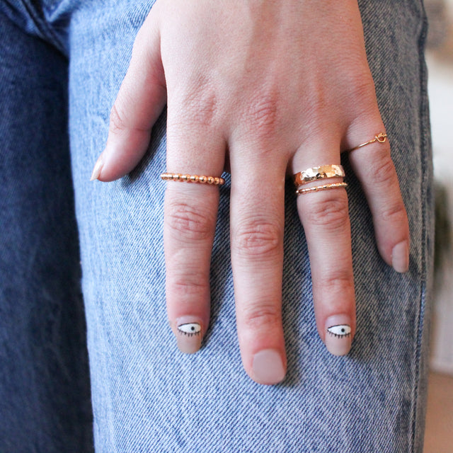 Bamboo Stackable Ring