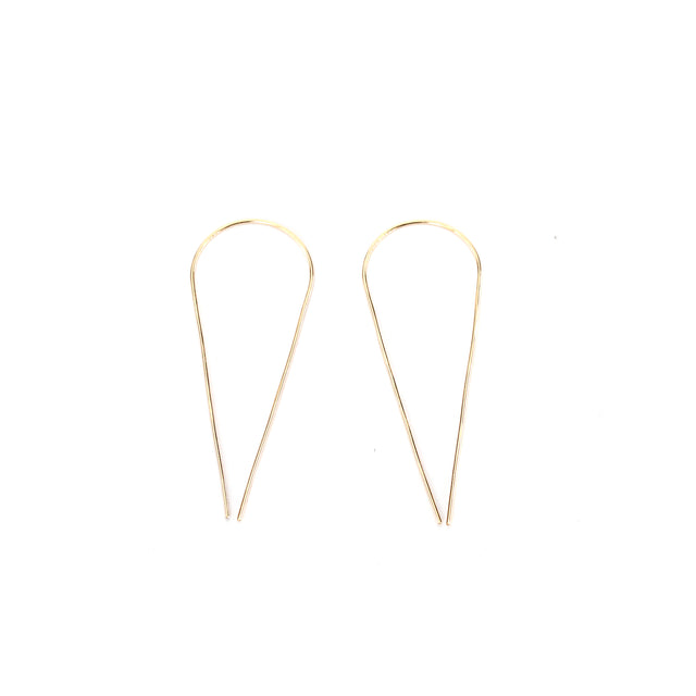 Teardrop Slider Earrings