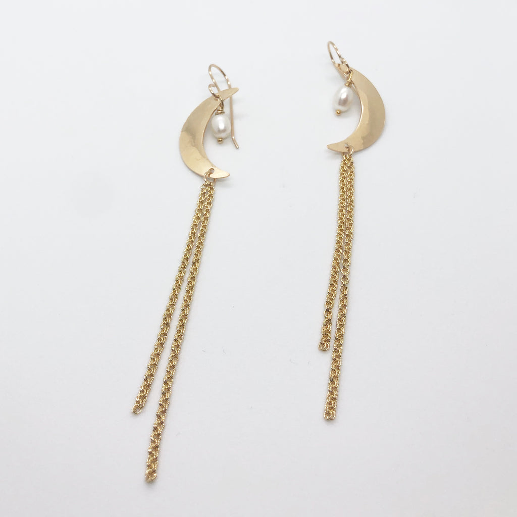 Shoot for the Moon Earrings