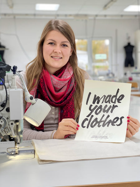 I made your clothes. Fashion made in Germany