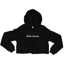 Load image into Gallery viewer, Elektro Academy Crop Hoodie
