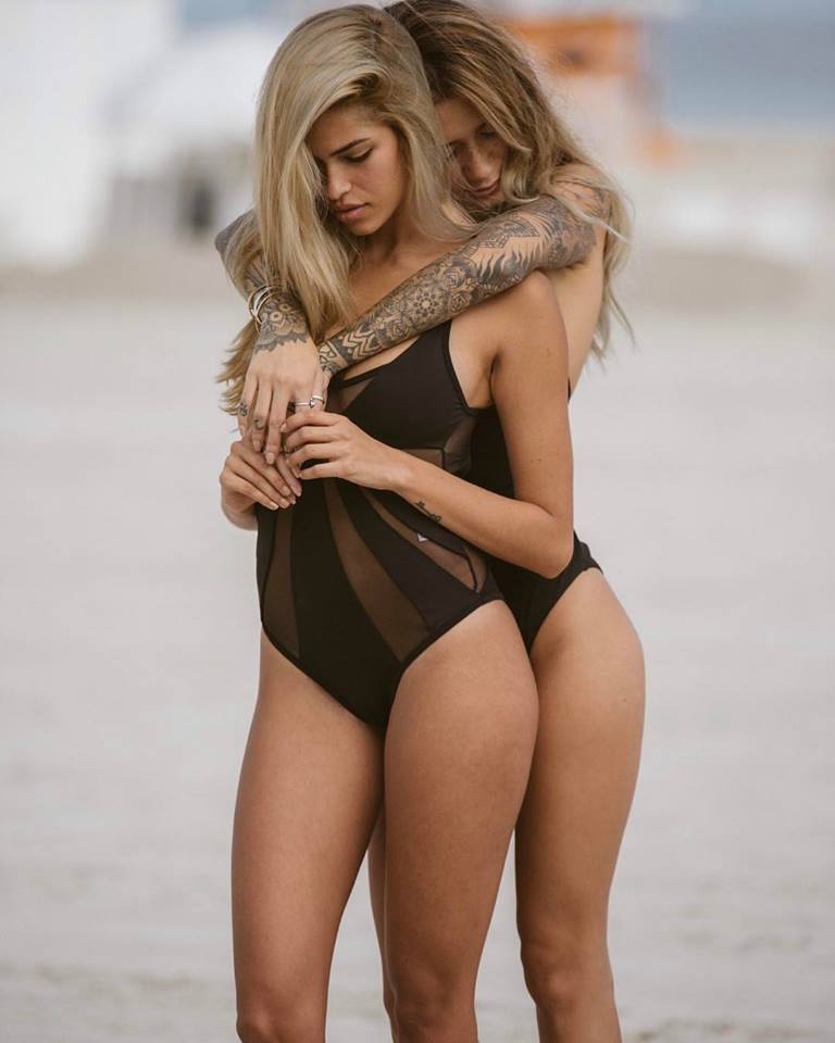 Dahlia Maillot in Ink Black