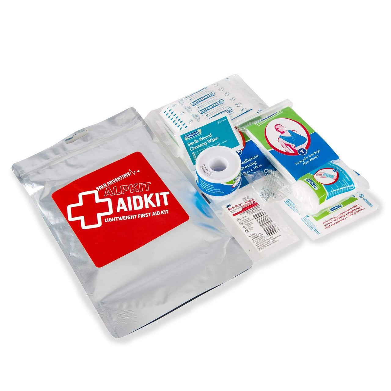 Solo Adventure First Aid Kit