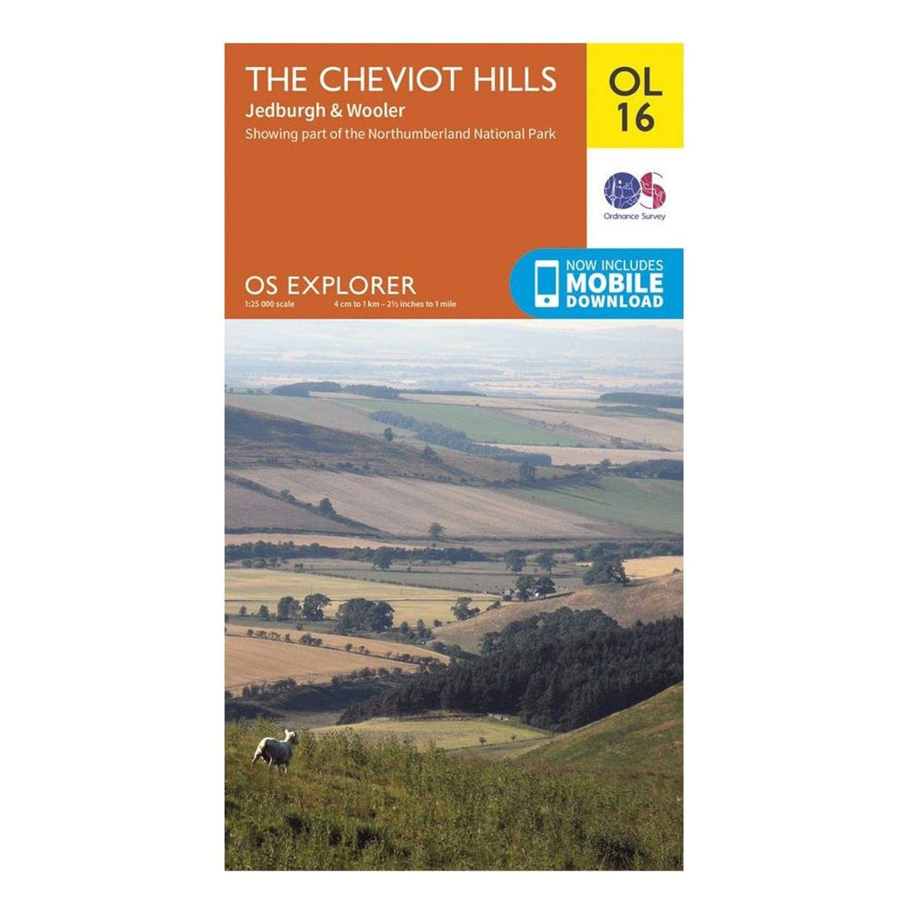 OS Explorer Maps: The Cheviot Hills