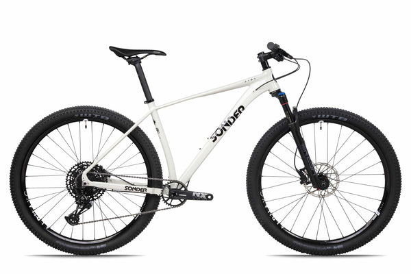 sonder dial xc mountain bike in grey
