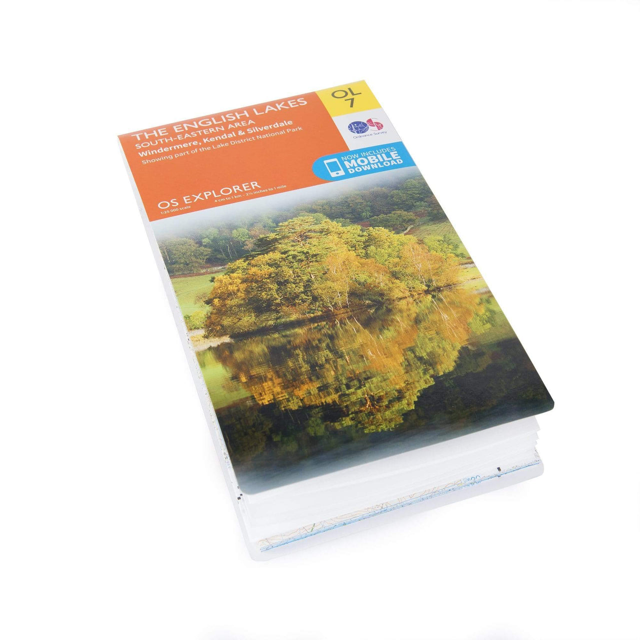 OS Explorer Maps: The English Lakes - South East