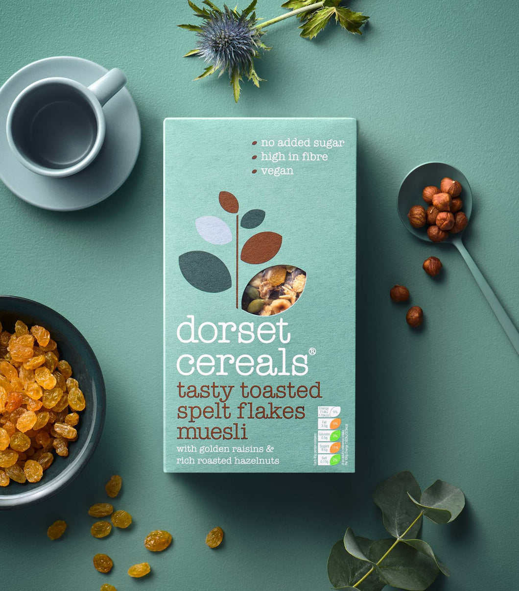 Dorset Cereals Tasty Toasted Spelt Flake Muesli - Home Pantry