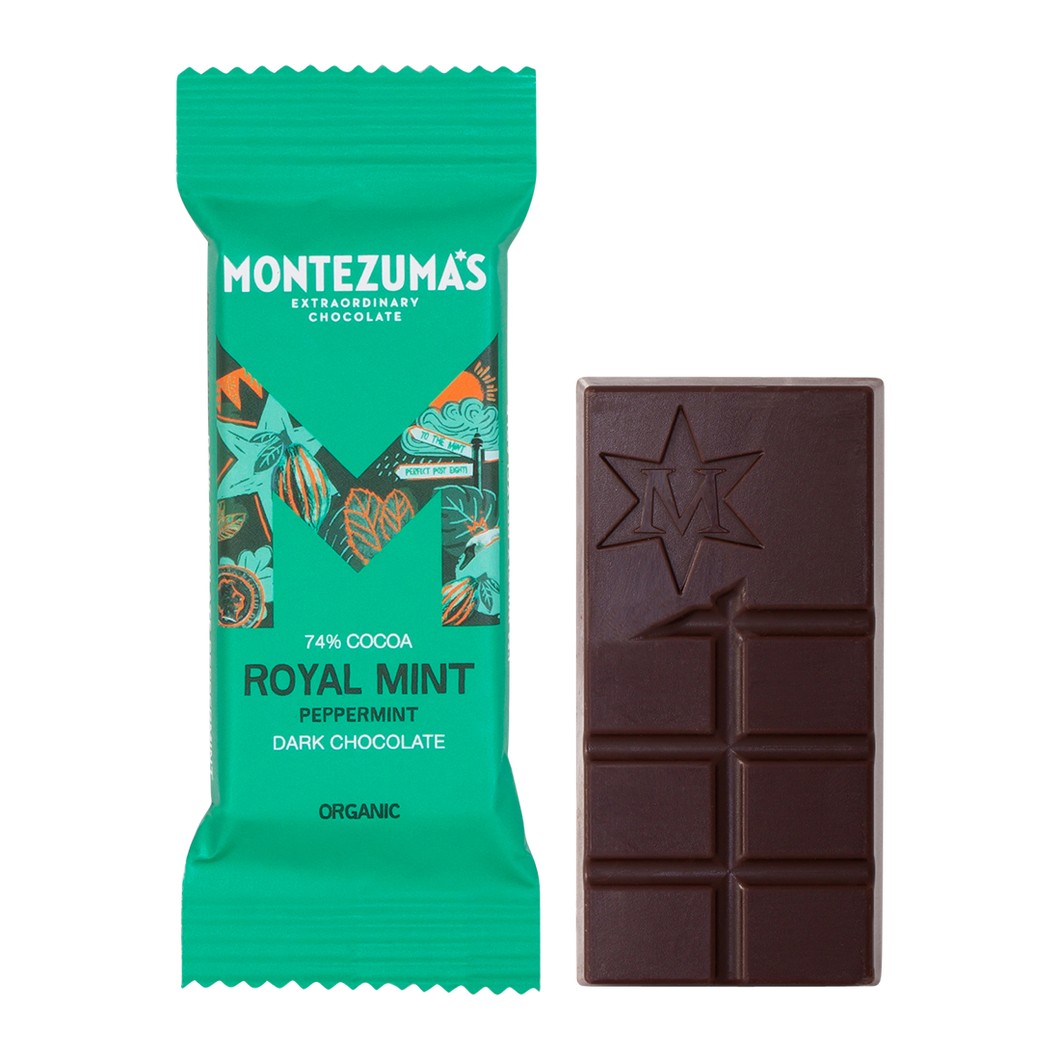 Montezuma's Royal Mint Chocolate Bars