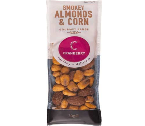 Cranberry Snackshot - Almonds & Corn