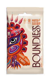 Boundless Activated Nuts & Seeds - Orange, Ginger & Maple