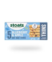 Stoats Blueberry & Apple Oat Thins