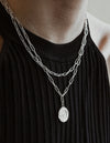 Afterglow Necklace <br>Silver