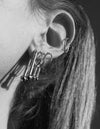 Cherry Lock earring <br>Silver