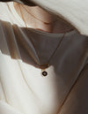 Nue necklace <br>Solid gold