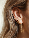 Rae Ruby earring <br>Gold