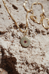 Morning Star Ruby Necklace <br>Gold