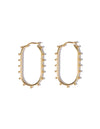 Aurora earrings<br>Gold