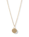 Club Soleil Rope Necklace <br> Gold
