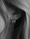Hunter Earring <br> Silver
