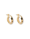 Nova earrings <br>Gold