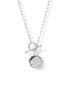 Rise Toggle Necklace <br> Silver
