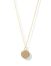 Zion Chain Necklace <br> Gold